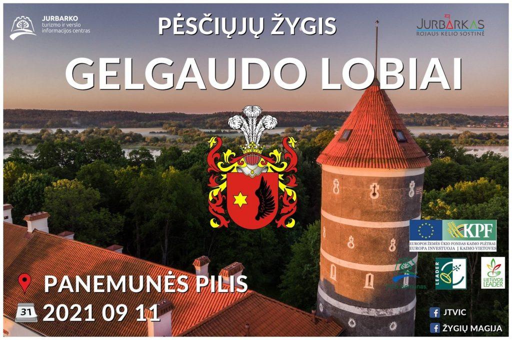 Gelgaudo lobiai - žygis Jurbarko r.